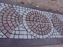 El ventilador/Cuadrado amarillo de granito natural/Gris/rojo/gris oscuro Jardín la pavimentación o el cubo/Curb/Piedra guijarros