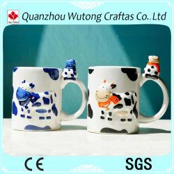 La característica de Holanda Mug de cerámica de diseño de la vaca para la venta de regalos turísticos