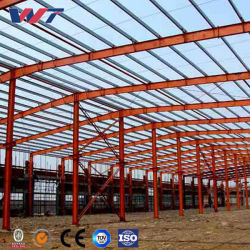 Atelier de construction métalliques usine-entrepôt Case Colonne Utilisé Structure en acier