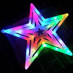 Kerstdecoratie Star LED-motief verlichting