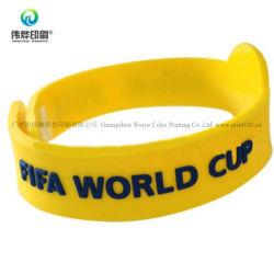 Bracelet en silicone d'impression personnalisé promotionnel cadeau