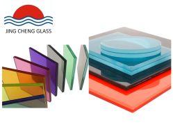 6.38mm/8.38mm/10.38mm/12.38mm milderten klar und Farben-lamelliertes Glas