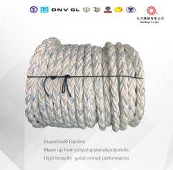 Gherlino Impa della corda pp della corda/pp di attracco del monofilamento del polipropilene 8/12 di corda dei fili