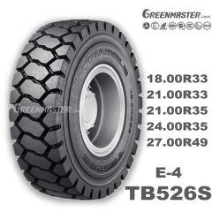 放射状E4/L-4 off-The-Road OTRのタイヤ、鋼鉄ブルドーザーまたはローダーまたはDozerまたはグレーダーのタイヤ、採鉱のArticularまたは連結されるまたは堅いダンプトラックのタイヤ18.00r33 21.00r33 35/65r33