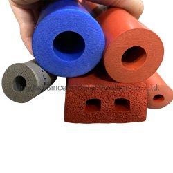 La FDA en silicone résistant aux températures élevées et l'étanchéité du tube d'éponge Heat-Preservation mousse de silicone tuyau tube