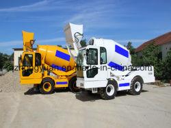 Prix bon marché ! ! 4La GAC bétonnière avec la pompe de la machine, les bétonnières, Mobile Self de chargement de camion bétonnière pour Hot Sale