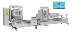 Máquina Yuefeng Janelas de alumínio portas de Corte da Máquina Mitre viu a máquina