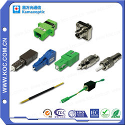 Sc/LC/FC/Stのコネクターが付いている差込式のタイプ0-25dBの光ファイバ減衰器