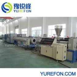 Espulsore del tubo del tubo di UPVC, serbatoio di raffreddamento di calibratura, trazione fuori, taglierina, linea di produzione dell'impilatore