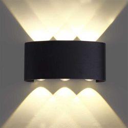 Outdoor Double spot Tête 4W 8W étanche IP65 5000K 4000K Décoration mur de lumière à LED