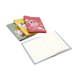 Groothandel Verkoop DIY A5 eenvoudig zacht oppervlak Exquisite naaidraad Briefpapier Kids Promotion Cadeaubon