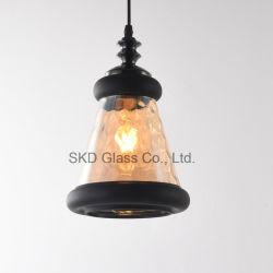 Dachboden-durchgebrannte hängende schwarze und bernsteinfarbige Miniglasfarbe