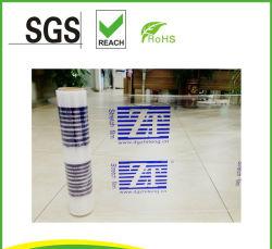 El logotipo de la impresión de film stretch con diferentes colores