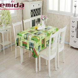 PVC motif dentelle nappe, Restaurant Chiffon de table en plastique