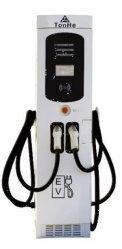60kw CCS Gleichstrom-steckt schnelles elektrisches Fahrzeug-Eurodoppeltes Aufladeeinheits-Ladestation mit Ocpp, CER Bescheinigung ein