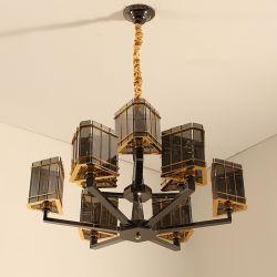 Postmodern Noordse Minimalistische Lampen van de Tegenhanger van de Kunst van het Restaurant van de Woonkamer van de Slaapkamer van het Kristal van de Luxe Neoklassieke Creatieve