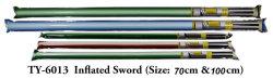 Gonflés épée de la nouveauté des jouets