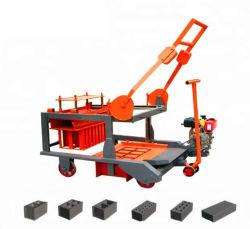Нажмите кнопку дизельного экологических глиняных кирпичей блокировки машины Hby2-15 Марта Expo 2020 поощрения