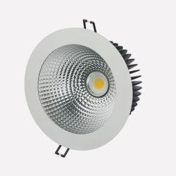 6-дюймовый 170мм 40W 3600лм Triac CRI с регулируемой яркостью90 встраиваемый светодиодный индикатор початков коммерческих затенения для аэропорта