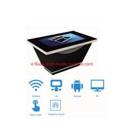 Schermo a sfioramento interattivo/Display pubblicitario/Totem digitale 500 Nit LCD con PC Windows o Android Player