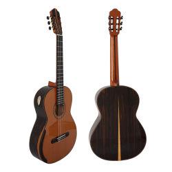 AiersiマスターのYulong郡野ハンドメイドのNomexの二重上の古典的なギター