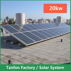 20kw Sistemas de Energia Solar PV Tie-Grid Panelhouse 20000watts de alimentação de energia