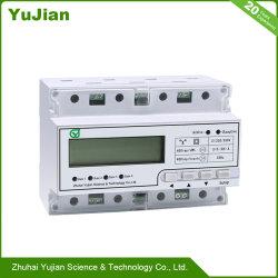 다기능 에너지 미터 2를 위한 원격 DIN 표준 레일 설치 클래스