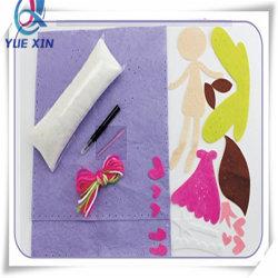 女の子のためのクラフトキットを縫って、芸術キット、子供の妖精の枕を縫いなさい
