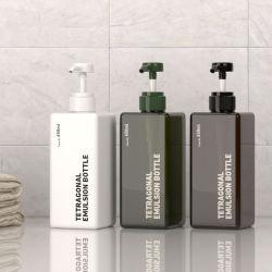 Pet Square الرغوة الصابون زجاجة شامبو التغليف وعاء التجميل ل تنظيف الوجه بمنظف اليدين