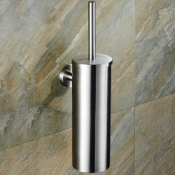Установленный стеной держатель щетки туалета нержавеющей стали Inox 304
