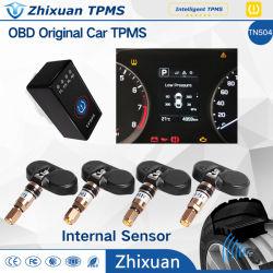 Ursprüngliche TPMS Bildschirmanzeige OBD-auf Armaturenbrett für Nissan-Auto-Hyundai-Auto Byd Auto TPMS