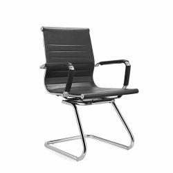 Foshan mobilier de bureau PU chaise de salle de conférence sans roues