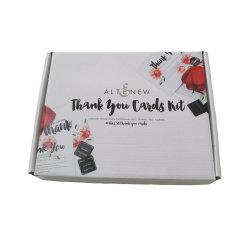 Diseño de cuatro colores caja de embalaje de papel de impresión de flores