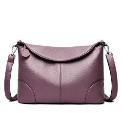 Senhoras de couro macio grande capacidade Saco Casual Saco a tiracolo bolsas de moda