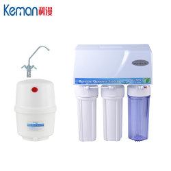 Filtro da acqua del sistema del RO delle 5 fasi con il caso della prova della polvere