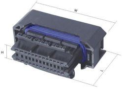 Borne du connecteur de pièces automobiles ECU DJ7261-1.5/2.3-21