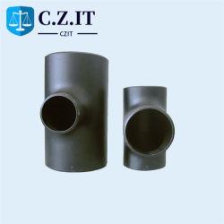 ASME B16.9 Mss Sp 75 8 pulgadas de 4 pulgadas sin fisuras de DN100/soldado PEC P265gh234 un leve reducción de la reductora Wpb Ms la igualdad de doblar el codo de la tapa de la t de tubos de acero negro de carbón apenas