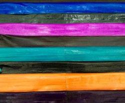 Panel de la anguila coloridos Monedero de piel