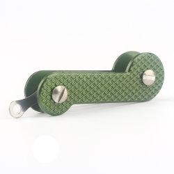 Livre de alta qualidade barato OEM Tecla do logotipo Laser titular de chave de couro do Organizador