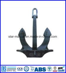 ホールのタイプa、BのLrsのABS BV Dnv Gl Nk Kr Rina CCS Rmrsの証明書が付いているCの鋳鉄の船のアンカー