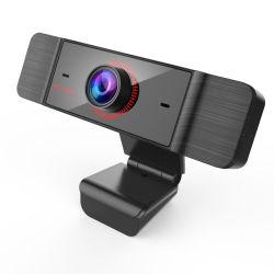 FHD1080p/720p USBのウェブ画像のマイクロフォンのパソコンのカメラ