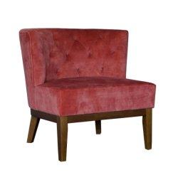 Presidenza del sofà del tessuto del sofà del salone dell'hotel la singola ha usato una presidenza del sofà dell'ingresso dell'hotel della sede