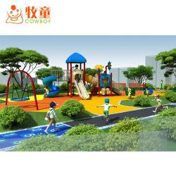 子供の遊園地のための使用された耐久の屋外の子供の運動場装置