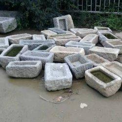 أثر قديم أسلوب حديقة [فلوور بوت] [40-80كم] صوّان أحواض قديمة
