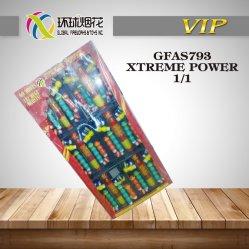 Gfas793-Xtreme القوة متنوعة المدفعية قذائف 1.4G Un0336 السعادة بانجر الألعاب النارية