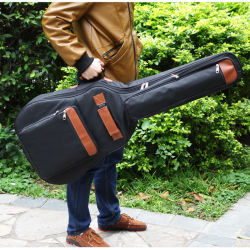 """La musica portatile personalizzata di marchio 40 41 """" cinghia molle della casella del supporto della chitarra bassa della jola dell'alloggiamento sacchetto filtro di Funda dello zaino elettrico acustico dell'unità di elaborazione ha riempito impermeabile"""