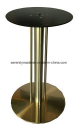 Commerce de gros industriels en fonte ronde contemporain restaurant Base de table en métal