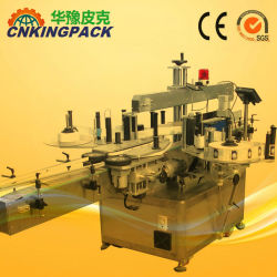 Full Automatic Double Side Flat Bottles Labeling machine Filling Capping Verpakkingsmachine