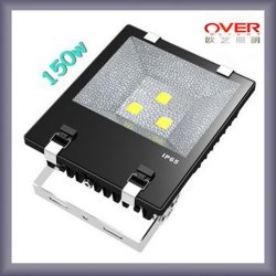 Très Good Quality Black DEL Flood Light 100With150With200W COB IP65 avec du CE RoHS Approved