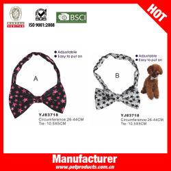 Krawatte mit Hundegutschie und Hundehalsband mit Sternenmuster (YJ83178)